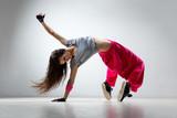 Fototapeta taniec - nastolatek - Zdrowie / Gimnastyka / Taniec