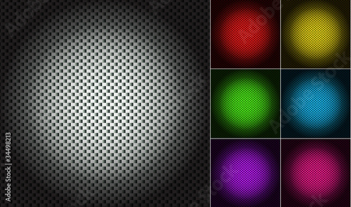 set of color abstract mesh texture