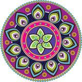 Fototapety Stock Vector Illustration: Indian texture