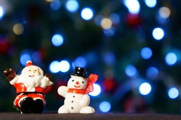 クリスマス サンタクロース スノーマン