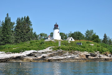 Burnt Island Light, Maine, USA