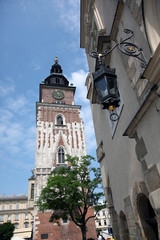View of The Town Hall Tower,Krakow