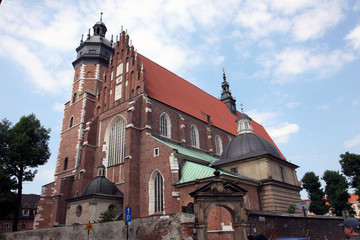 Baroque Church in Krakow