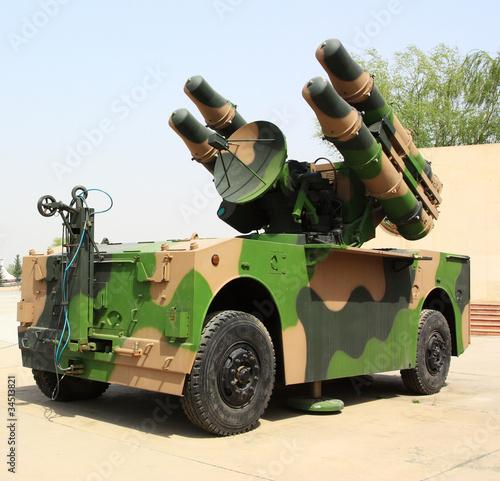 Military missile vehicle
