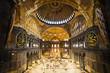Leinwandbild Motiv Hagia Sophia Interior