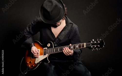 Leinwanddruck Bild blues