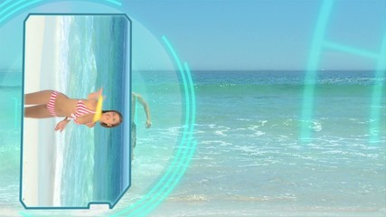 3D Animation on Beach Vacations