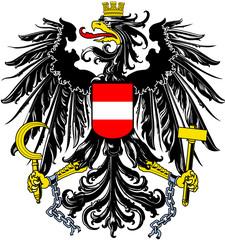 Österreich Austria Wappen Flagge