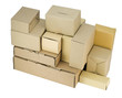 cardboard small boxes of industrial design
