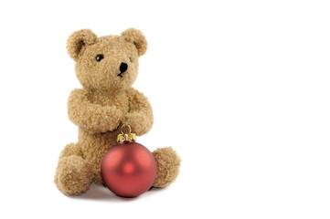 Teddy mit Kugel