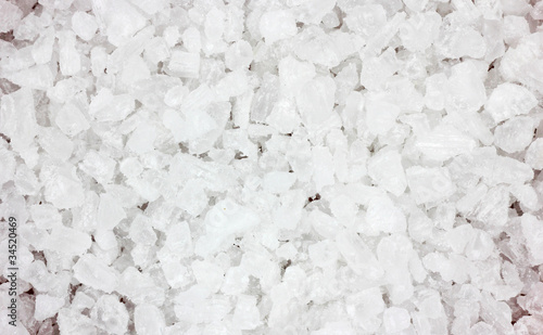 Coarse Sea Salt Close View