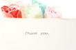 サンキュー メッセージカード