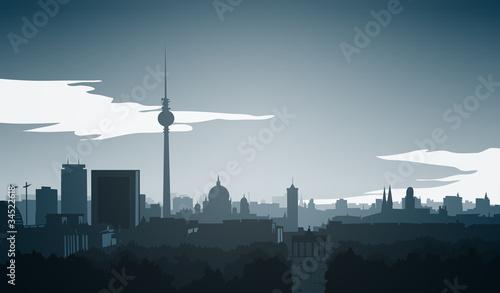 Fototapeta skyline-berlin-mitte-final