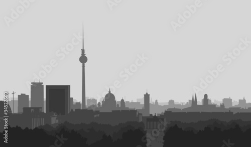 Fototapeten,berlin,fernsehturm,grafik,haus