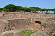 Ostia Antica near Rome in Italy
