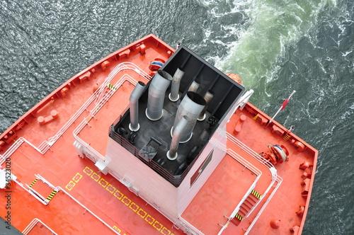 Schornstein vom Frachtschiff - 34523020