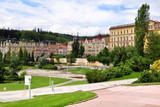 spa Marianske Lazne in Czech republic