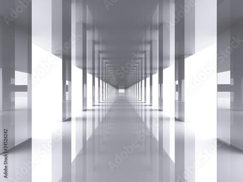 lustrzana-kolumnada-3d-w-nowoczesnym-stylu