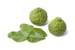 Kaffir limes and leaves