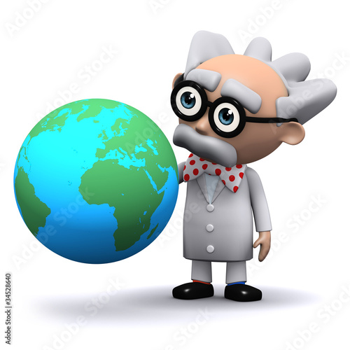 3d Mad Scientist plans to conquer the world