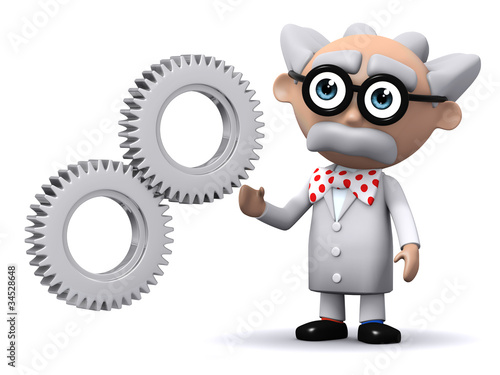 3d Mad Scientist shows how it works