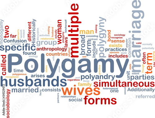 Polygamy background concept