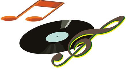 vinile musicale