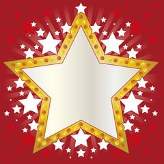 Moldura estrelas
