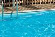 eau bleue piscine