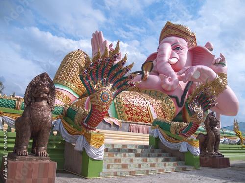 Staande foto India Ganesha statue