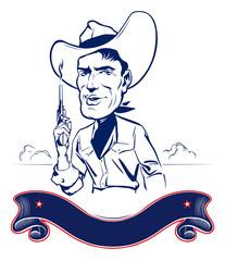 cowboy man portrait