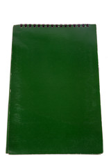 green  floral cover of book vertical