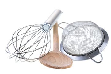 Drei Küchengeräte