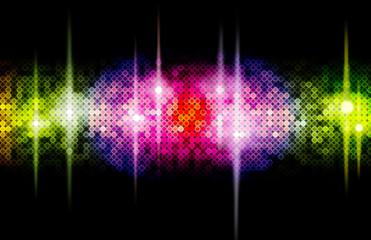 Hintergrund Disco