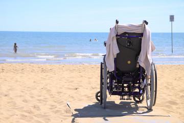 Disabili al mare