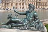 Sculptures of palace complex Versailles