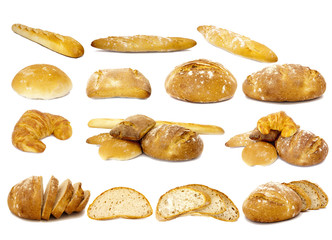 pan, colección aislada