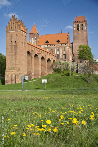 Kwidzyn castle in Poland
