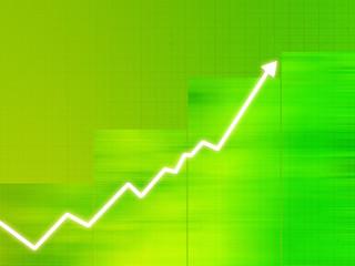 graphique : business - augmentation - bourse