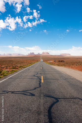 Poster monument valley road