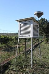 Stazione meteo per agricoltura