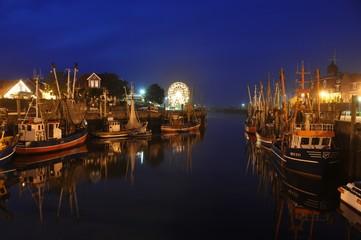 Hafen nachts