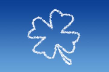 Wolken Kleeblatt