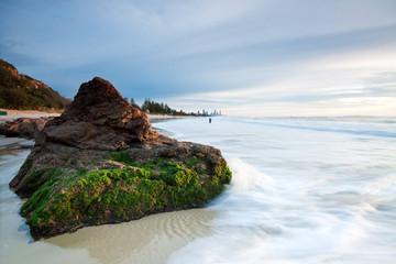 australian seascape early morning