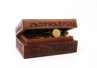 Chest  with Gold Coins