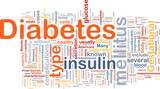 Diabetes disease background concept