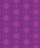 oriental seamless pattern in violet colors