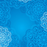 background with mandala elements