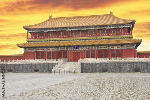Foto op Aluminium Beijing Beijing's Forbidden City