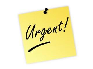 urgent post it